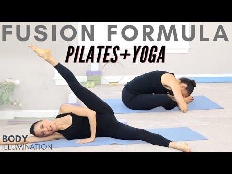 Pilates Yoga Yogilates Full Body Fusion Fitness 35 minutes