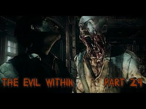 The Evil Within-Gameplay-Part 29-Walkthrough (Shot/Head Maze/Spotting Joseph!!)