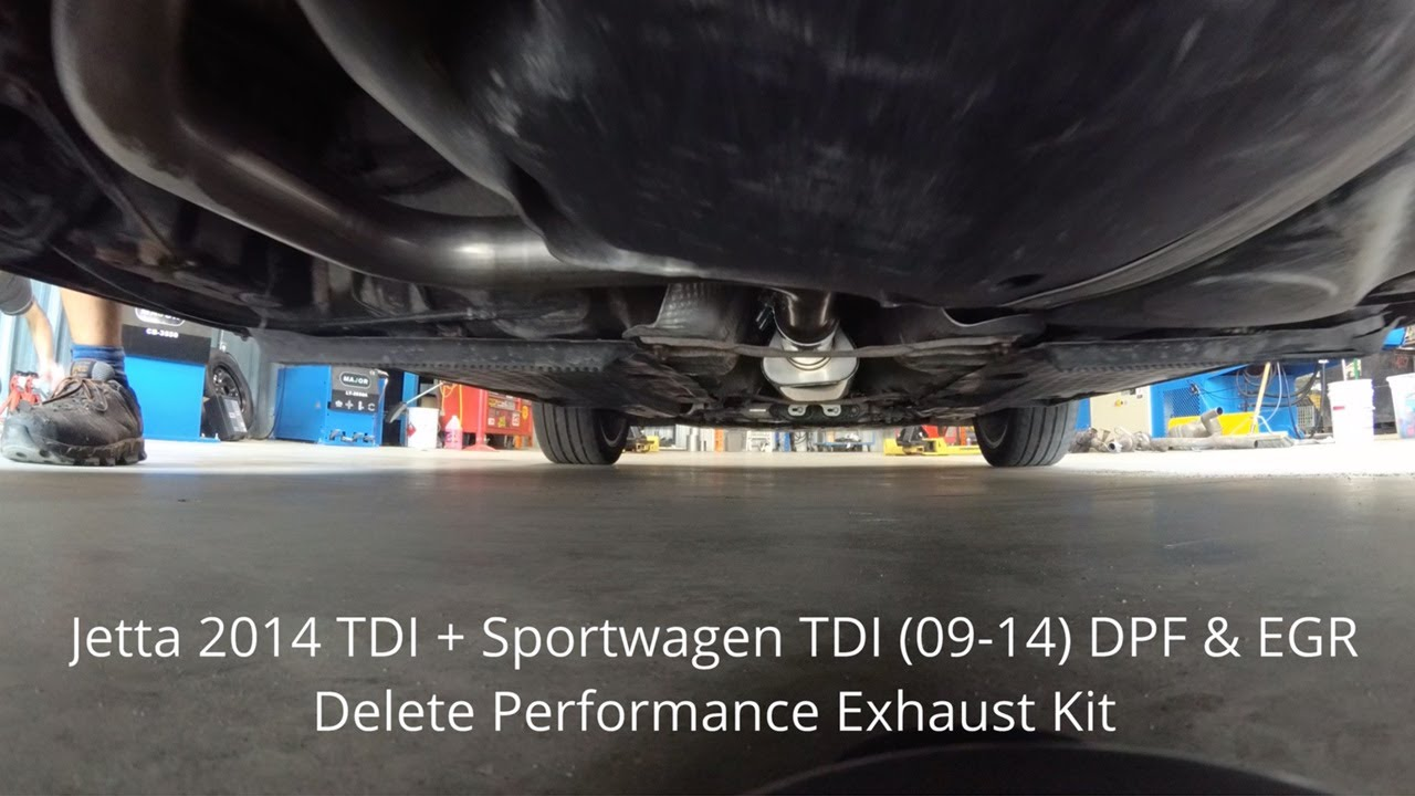VW Jetta & Sportwagen TDI DPF & EGR Delete Performance Kit