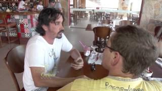 Elenco da Série Milagres de Jesus no CAJUINA CARIOCA   BLOCO 2 HD