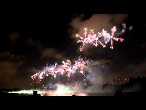 (Left side) Champion of  Shanghai International Music Fireworks Festival —— CBF Pyrotechnics