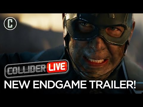 Avengers Endgame Trailer Drops Unexpectedly: Our Review - Collider Live #92
