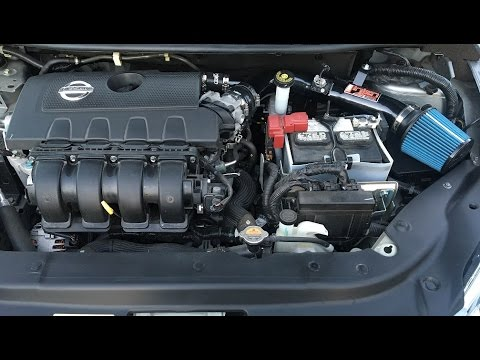 how to install an injen intake 0 60 2013 2018 nissan. Black Bedroom Furniture Sets. Home Design Ideas