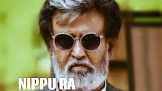 Kabali || Telugu songs|| NIPPU RA|| RAJINI KANTH||