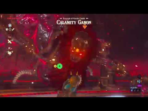 Link Vs Ganon Breath Of The Wild Youtube