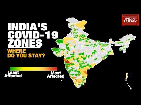 Tracking India's COVID-19 Zones: Where Do You Stay? | Newstrack