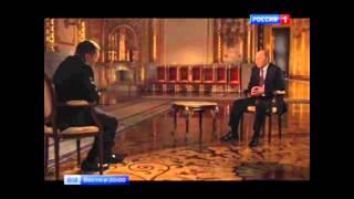 Крым путь домой  Соловьев  Интервью у  Путина