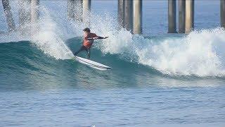 Surfing HB Pier | February 11th | 2018 (RAW) thumbnail
