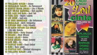 Gambar cover 20 Lagu Slow cinta Terpopuler 95 BLACKBOARD