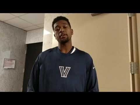 Villanova Kris Jenkins Post Game 11/5/16