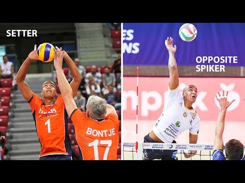 Nimir Abdel - Aziz   The Setter who always wants to be the Opposite Spiker