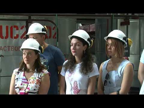 РАЕС: Учасники оглядових курсів ознайомилися з виробництвом на РАЕС