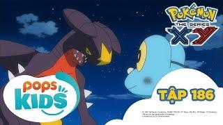Pokémon Tập 186 - Tiến hóa Mega và Tháp Lăng Kính - Hoạt Hình Tiếng Việt Pokémon S17 XY