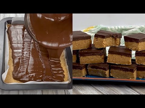 Peanut butter bars really tasty and ready without bake