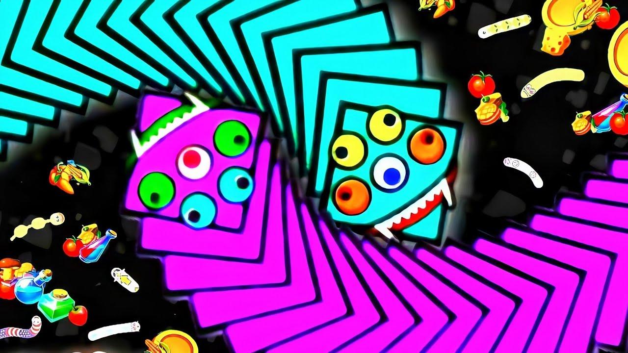 เกมงูสุดมันส์ พิชิตอันดับ1 เวิร์มโซน(WormsZone.io)เกมงูจอมตะกละ เกมงูที่กำลังฮิต บนมือถือ #8