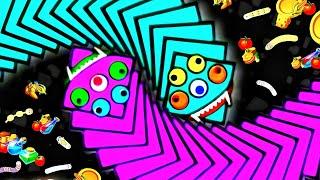 เกมงูสุดมันส์ พิชิตอันดับ1 เวิร์มโซน(WormsZone.io)เกมงูจอมตะกละ เกมงูที่กำลังฮิต บนมือถือ #8 screenshot 2
