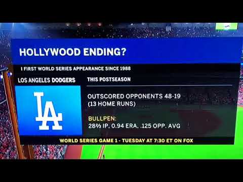 2017 World Series goyim mocking, Hollywood Ending for LA Dodgers?