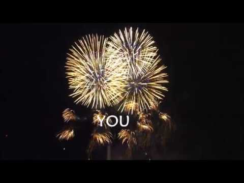 Happy Birthday Video Card With Dancing Fireworks Beautiful Short Version Youtube