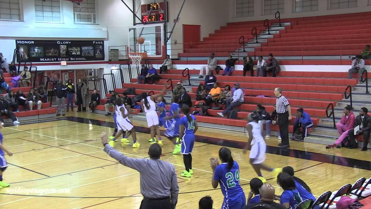 Crete Monee Vs South Shore Girls Varsity Basketball Highlights 2013 Shoe Game