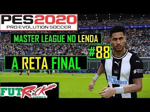 PES 2020 - MASTER LEAGUE NO LENDA #88 - ENTRAMOS NA RETA FINAL DA TEMPORADA - 동영상