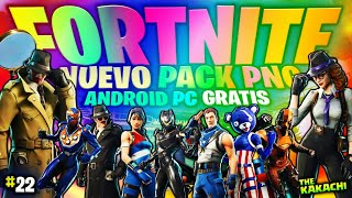 PACK PNG RENDERS #22 NOUVEAU SKINS FORTNITE BATLE ROYALE/ANDROID/PC