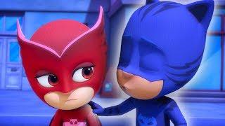 Heroes en Pijamas Capitulos Completos | La crisis nebulosa de Gat-Uno | Dibujos Animados