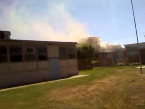 ABBOTT SCHOOL ON FIRE 5/26/12