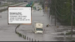 I-95 at SC/NC Border Closed Due to Flooding