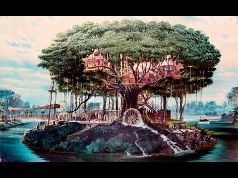 Photo Wallpaper 3d In Tampa Fl Swiss Family Robinson Tree House Walkthrough Magic