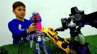 Видео про Трансформеры - План Мегатрона - Игрушки для мальчиков