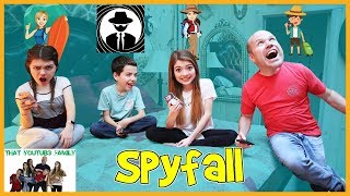 Who Is The Spy? Family Fun SPYFALL Game / That YouTub3 Family