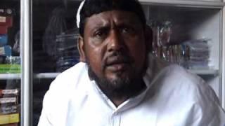 Haji Nurul Islam during Loksabha elections 2009