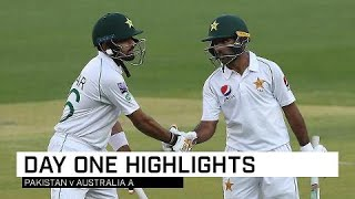 Babar, Shafiq Put Australia A To The Sword
