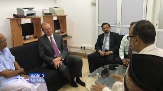 Canadian diplomats visits Ahmadi Muslims in Sri Lanka