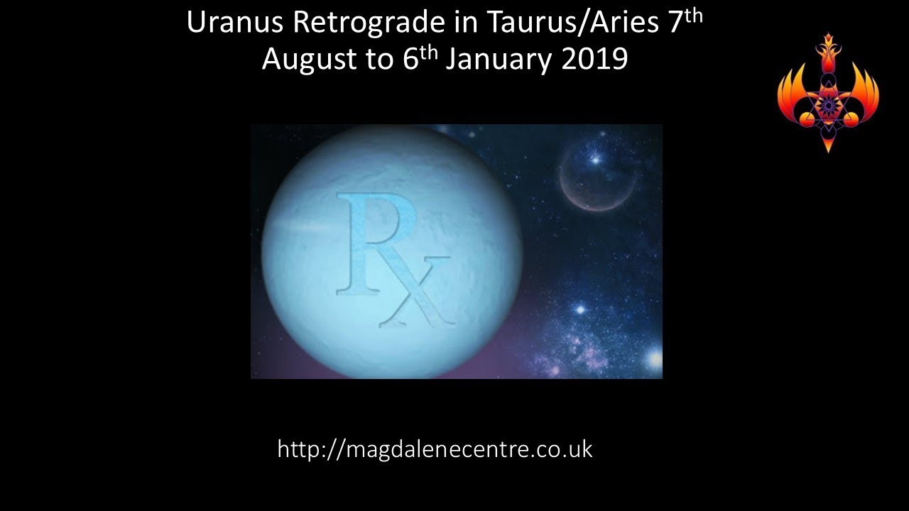 Uranus Retrograde 2018