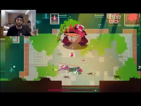 Let's Play: Hyper Light Drifter Part 6 - Hopping Mad