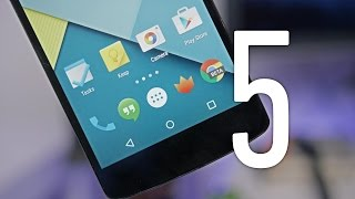 Android 5.0 Lollipop Feature Review!(Android 5.0 Lollipop has landed, and stock has a ton of new features! Top 5 Android 5.0 Features: http://youtu.be/y9ue7TNpxS0 Lollipop Wallpapers: ..., 2014-10-28T03:05:09.000Z)