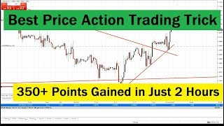 Price Action Trading Trick | 360 Points Gained | Forex Price Action Trading Tricks