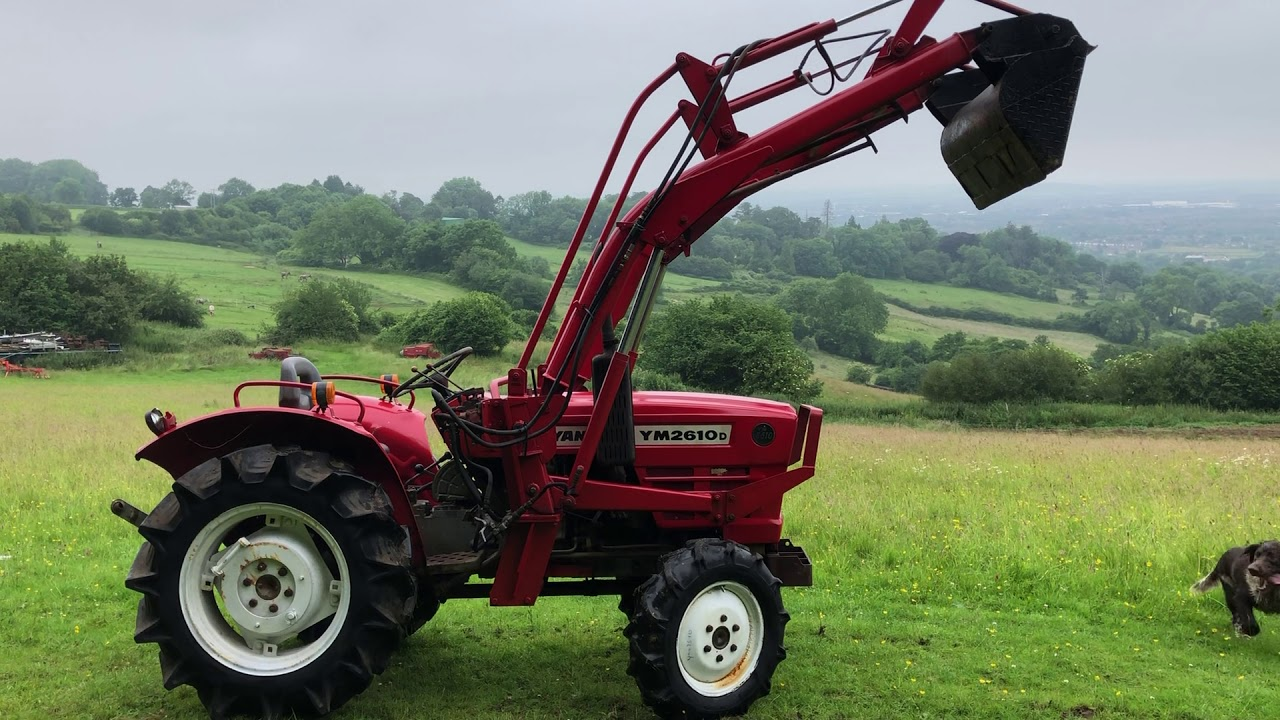YANMAR YM2610D 4WD COMPACT TRACTOR WITH POWER LOADER