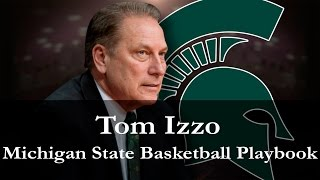 Tom Izzo Michigan State Spartans Basketball Playbook