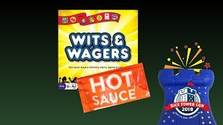 Wits & Wagers: Hot Sauce Variant!
