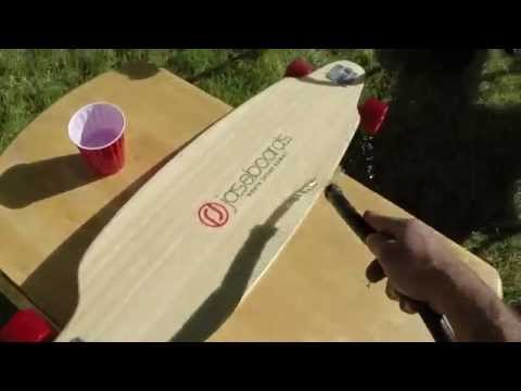 how to clean clear griptape  skateboard or longboard