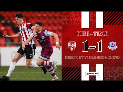 Derry City Drogheda Goals And Highlights