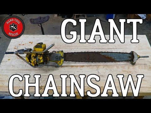 Two-Man Chainsaw - Bar & Chain [Restoration]