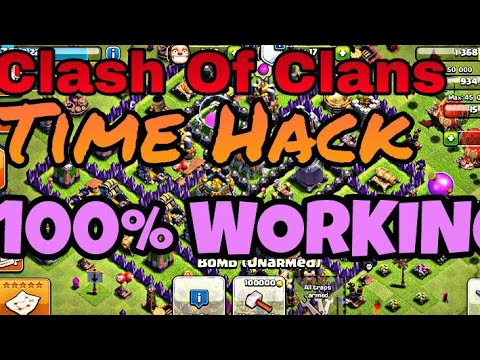 HOW TO SKIP TIME IN CLASH OF CLANS*100% Working*
