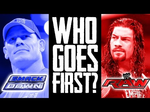 WWE BRAND EXTENSION MOCK DRAFT! RAW vs. SMACKDOWN! (Going In Raw Pro Wrestling Podcast Ep. 73)