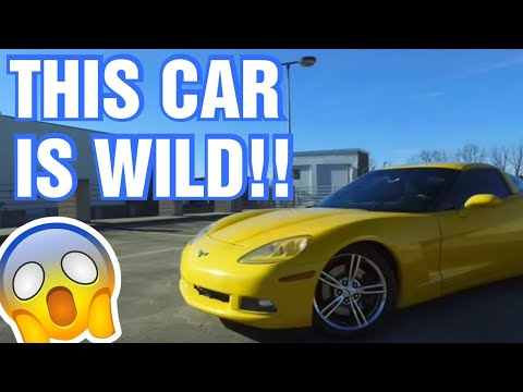What it's like to drive 510whp c6 corvette!   [Yeah... it's insane!]