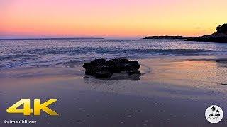 Illetas Beach 4K Sunset Chillout Lounge Mallorca Spain