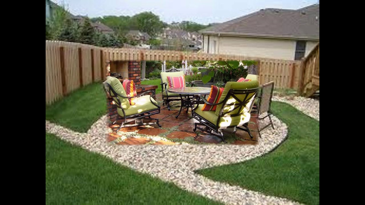 40 id es d coration conception de patio pour petits - Decoration allee de jardin ...