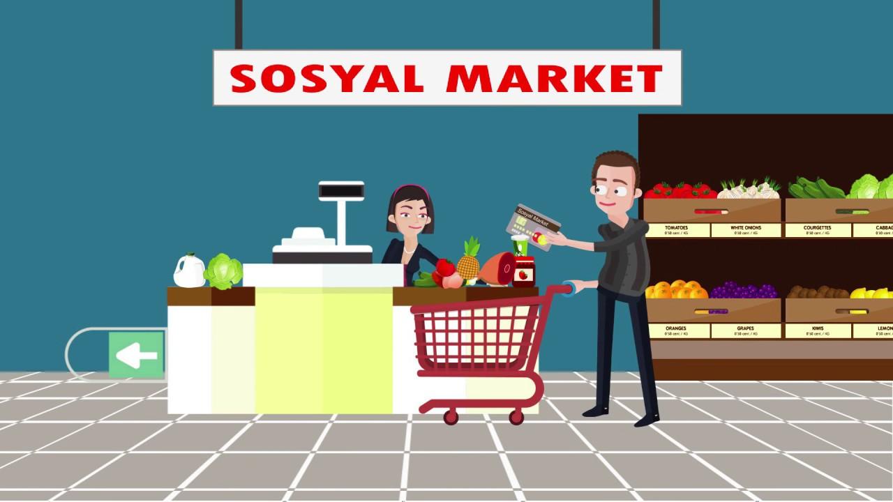 Sosyal Market Animasyon